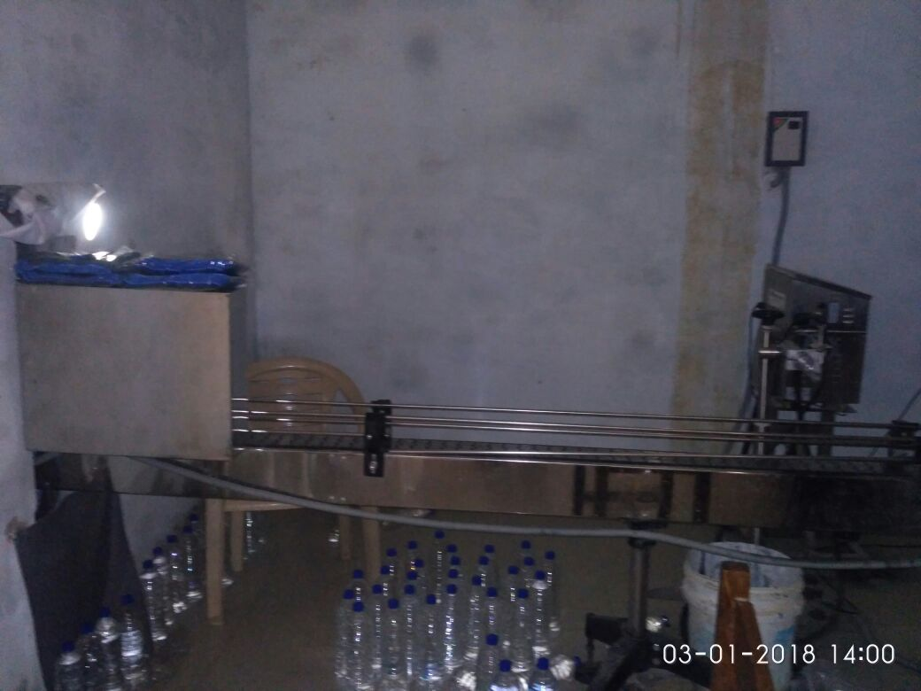 process drinking water packing